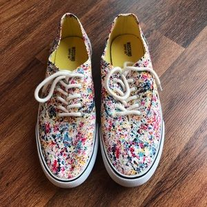 Mossimo Splatter Paint Shoes